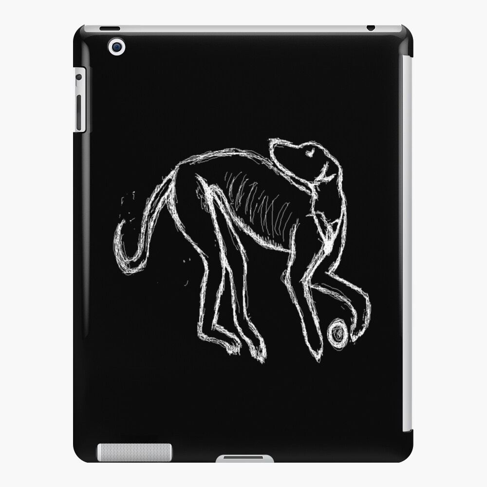 Iron Age Hound Dog Lurcher Reconstruction iPad Case & Skin