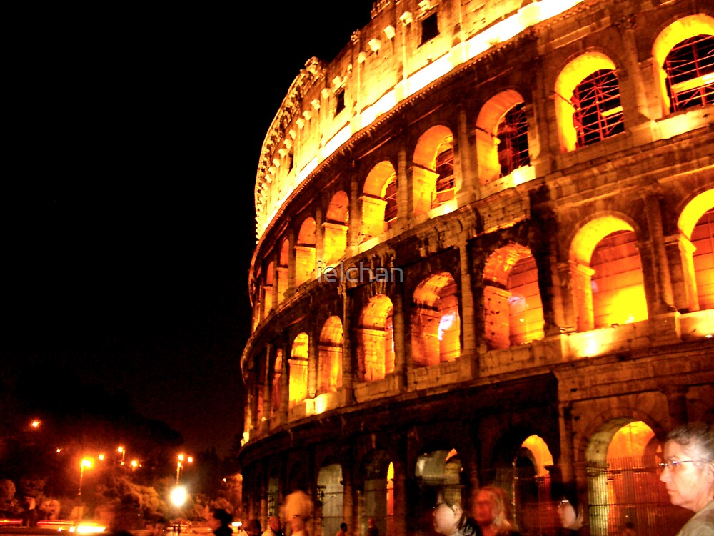 Colosseum in Rome by ielchan