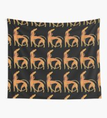 Celtic Anglo Saxon Greyhound Hound Lurcher Dog Wall Tapestry