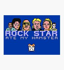 Gaming [C64] - Rock Star Ate My Hamster Photographic Print