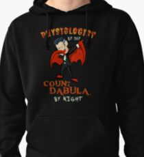 Count Dabula by night  Physiologist  Halloween Physiology   T-Shirt Sweater Hoodie Iphone Samsung Phone Case Coffee Mug Tablet Case Gift Pullover Hoodie