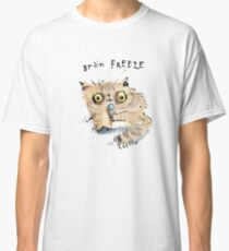 Brain Freeze Kitten Classic T-Shirt