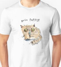Brain Freeze Kitten T-Shirt
