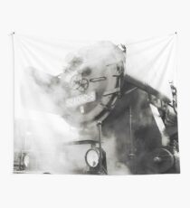 Steam power Wall Tapestry
