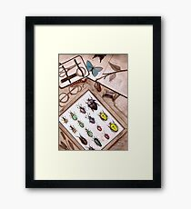 Insect Collector Framed Print