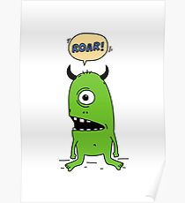 Roar! Monster! Poster
