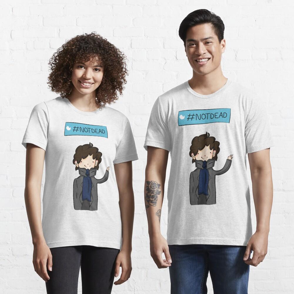 Sherlock #Not Dead Essential T-Shirt