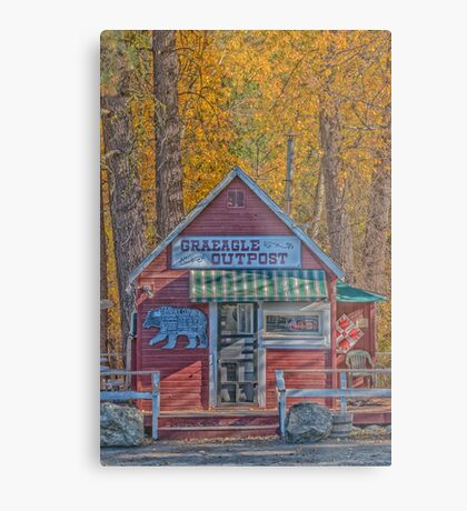 The Outpost Metal Print