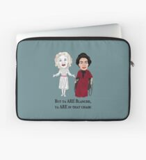 Whatever Happened to Baby Jane, Bette Davis, Joan Crawford Inspired Illustration. But you are in that chair Blanche Hudson Laptop Sleeve