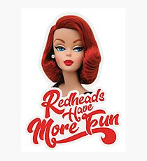 RedHeads Have More Fun Photographic Print