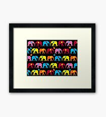 elephant cute  Framed Print