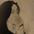 intaglio art (senorita) by dirtycitypigeon