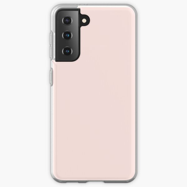 BEAUTIFUL COLORS - PLAIN MISTY ROSE - OVER 80 SHADES OF PINK AT OZCUSHIONS Samsung Galaxy Soft Case