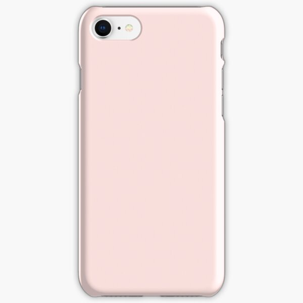 BEAUTIFUL COLORS - PLAIN MISTY ROSE - OVER 80 SHADES OF PINK AT OZCUSHIONS iPhone Snap Case