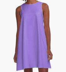 color medium purple A-Line Dress