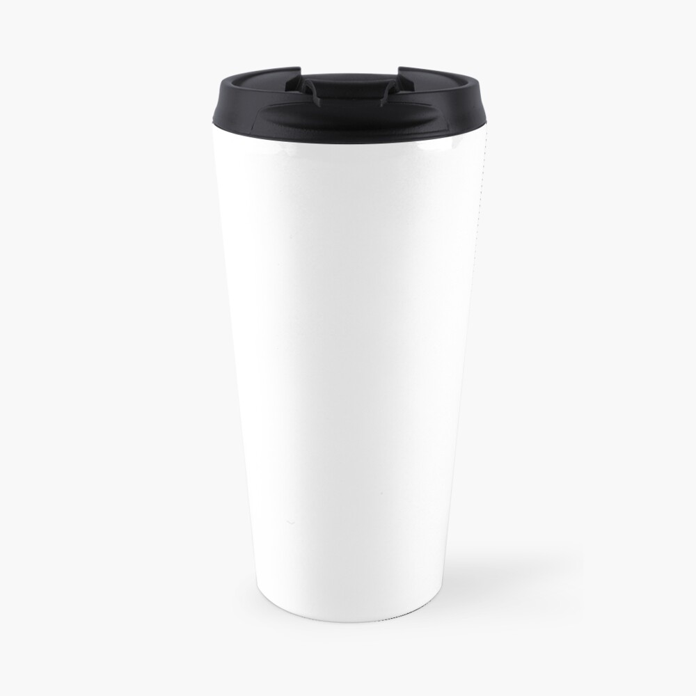 PLAIN WHITE | VERY WHITE | NEUTRAL SHADE | WE HAVE OVER 40 SHADES AND HUES IN THE NEUTRAL PALETTE Travel Mug