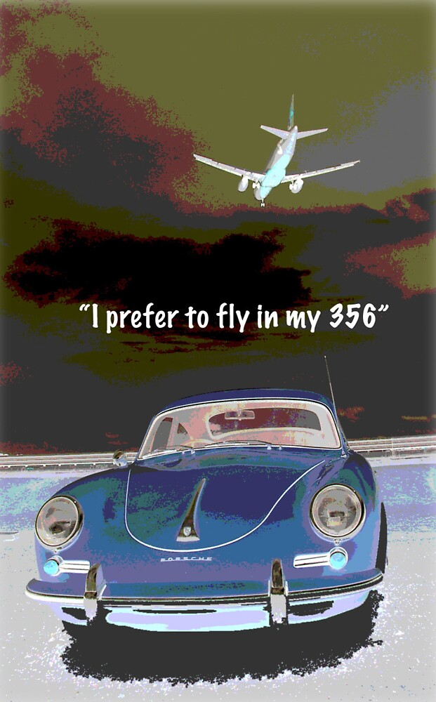 Flying in my 356 by BUWP