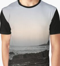 Peaceful Evenings at the Beach Graphic T-Shirt