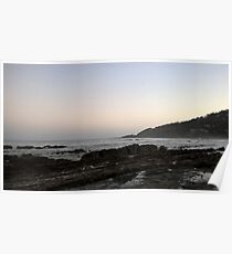 Peaceful Evenings at the Beach Poster
