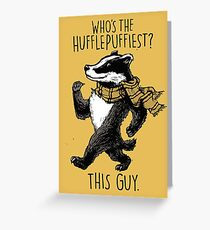 The Hufflepuffiest Greeting Card