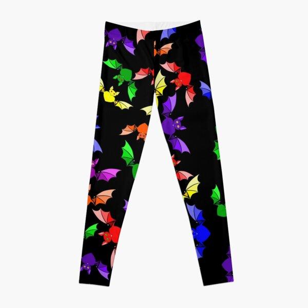 Rainbow Love Bats Leggings