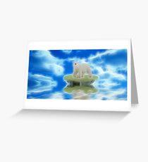 Melting Polar Caps Greeting Card
