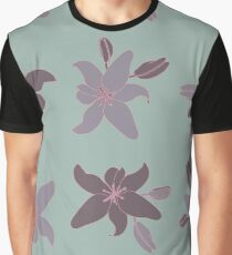 Mauve Lily Graphic T-Shirt