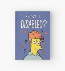 "The Simpsons ""Am I Disabled?"" Book Hardcover Journal"