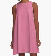 color pale violet red A-Line Dress