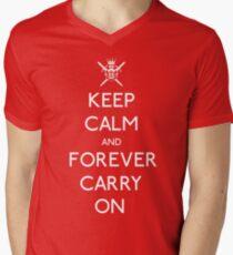 Forever Carry On Tee Men's V-Neck T-Shirt