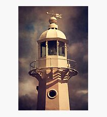 Mevagissey lighthouse Photographic Print