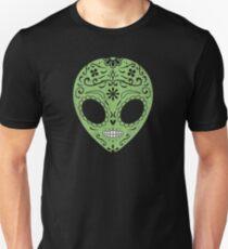 Alien Sugar Skull for Day of the Dead T-Shirt