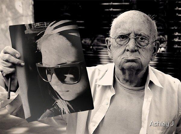 Nadie envejece por vivir años, sino por abandonar sus ideales by Ashley J
