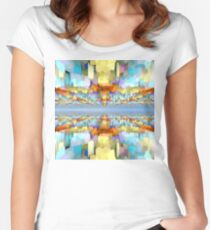 Sci Fi Horizons Women's Fitted Scoop T-Shirt