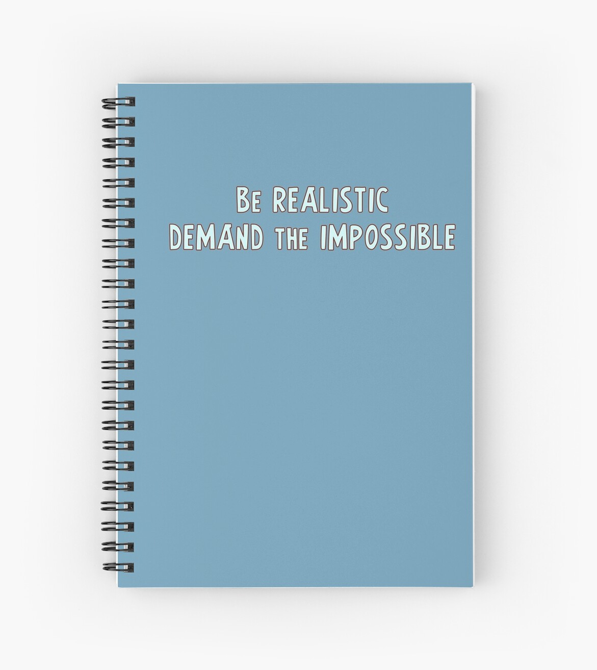 Be realistic, demand the impossible by Dominika Aniola