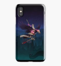 The Undead Crow - Magic Fire iPhone Case