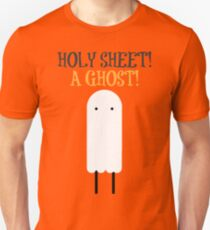 Holy Sheet! A Ghost! T-Shirt