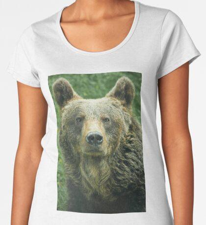 Eurasian Brown Bear Women's Premium T-Shirt