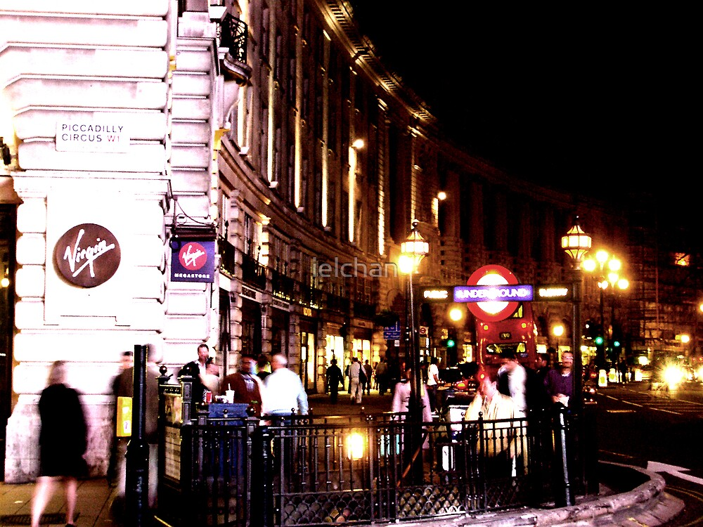 Piccadilly Circus, London by ielchan