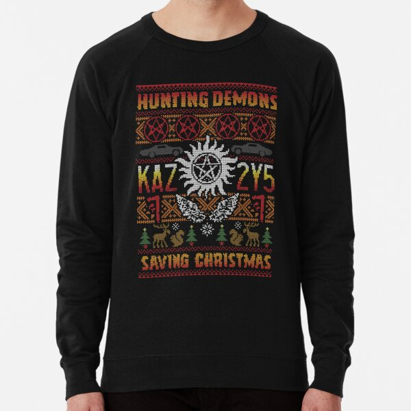 A Supernatural Christmas Lightweight Sweatshirt