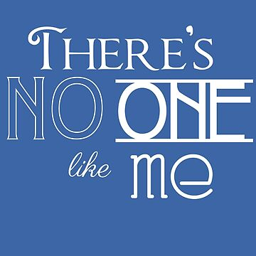 There's no one like me by Elang