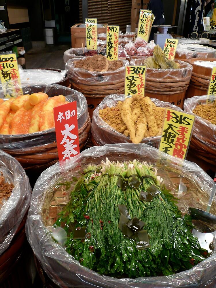 Nishiki Food Market, Kyoto by geikomaiko