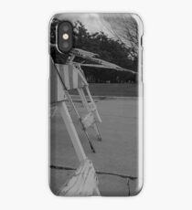 Construction Barricade iPhone Case