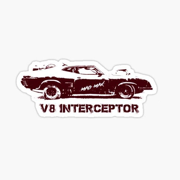 V8 Interceptor (Mad Max) Sticker