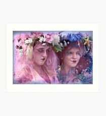 The Kostume Girls at the Mermaid Parade 2011 Art Print