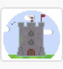 Castle Pixel Sticker
