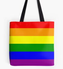 GAY, Gay Pride, Rainbow Flag, LGBT, pride, flag, Tote Bag