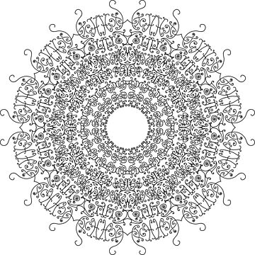 Mandala - A  by D-GraphicDesign