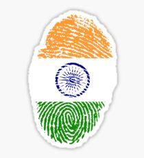 Pegatina Identidad india