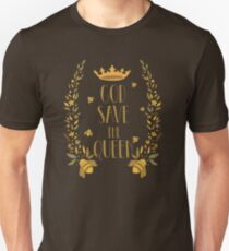 God Save The Queen. Save the Bees T-Shirt